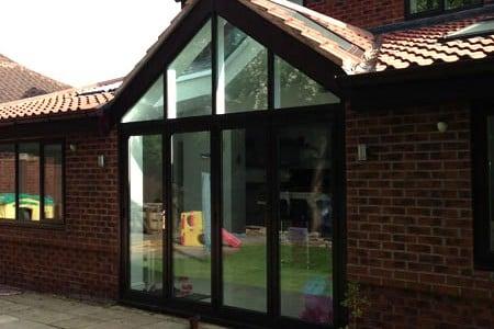 Aluminum Glazing Installation West Yorkshire