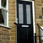PVCu Door Black