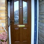 PVCu Door Brown