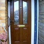 PVCu Door Brown